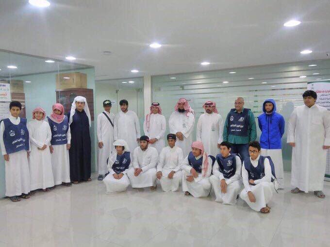 زيارة طلاب مدارس الجبيل الأهلية للجمعية